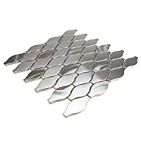 Giorbello 旅行系列,大西洋银泪珠,不锈钢(1/4 瓷砖(样品))