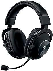 Logitech 罗技 981-000721 G PRO 游戏耳机,舒适耐用,铝,钢和*泡沫(适用PC)981-000812 G PRO Headset (Stereo)