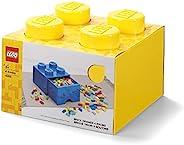 LEGO 乐高 哥本哈根厅 4头带抽屉储物砖 40051732,塑料材质,25 x 25.2cm,黄色