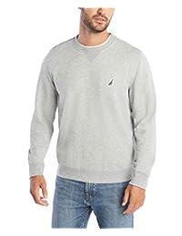 Nautica 男士基本圆领羊毛运动衫