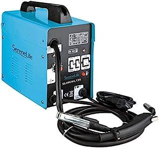 便携式数字 MIG 焊接机 – MIG 逆变焊机 带完整的配件套装适用于家庭工人,支持双电压 110V/220V