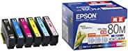 Epson 爱普生 IC6CL80M 原装6色墨盒套装(标志图案:玉米)