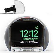 NightWatch 放大时钟底座,适用于 Apple Watch - 床头柜充电站 | 放大闹钟和显示 | 终极床头夜间模式支架