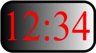 Miller Thyme Bedside Clock