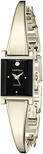 Armitron 女式 75/5322 钻石装饰手镯手表