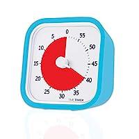 Time Timer LLC 60分钟可视计时器 适用于儿童和成人的教室或会议倒计时时钟 12英寸 蓝色