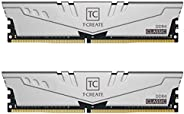 TEAMGROUP T-Create Classic DDR4 64GB Kit (2 x 32GB) 3200MHz (PC4 25600) CL22 台式机内存条 - TTCCD464G3200HC22DC01