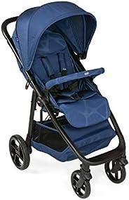 Chicco 智高 Multiride Off Road 婴儿车 适合 0 个月至 22 千克 紧凑型婴儿车 带防刺轮胎 *位置 单手折叠 遮阳罩 防雨罩