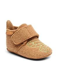Bisgaard 中性婴儿羊毛鞋 First Walker