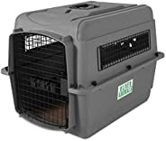 Petmate Sky Kennel for Pets from 25 to 30-Pound, Light Gray