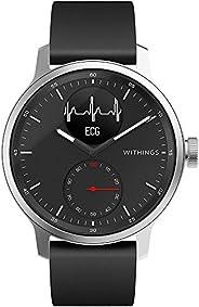 Withings ScanWatch 混合智能手表 带心电图、心率传感器和氧仪
