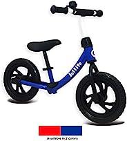 Jollito 轻质无踏板儿童平衡自行车/无空气轮胎带铃铛(2-6 岁)