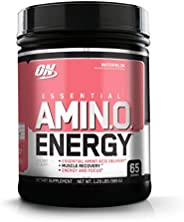 Optimum Nutrition Amino Energy with Green Tea and Green Coffee Extract, Preworkout and Amino Acids, Flavor: Wa
