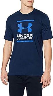 Under Armour 安德玛 男士UA GL Foundation 超柔软的印有图案的速干短袖运动T恤