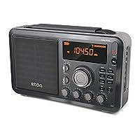 Eton Elite Field AM/FM/短波台式收音机,带有蓝牙