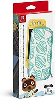 Animal Crossing: New Horizons Aloha Edition 便携包和屏幕保护膜 - Nintendo Switch Lite