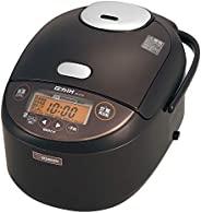 ZOJIRUSHI 象印 电饭煲 1升 (10合) 压力IH式 极炊 黑厚锅 保温30个小时 快煮28分钟 深棕色 NP-ZT18-TD