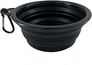 FELINEBOAT 可折叠宠物碗,优质食品级硅胶,无塑料边缘,食品*,小旅行碗