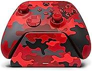 Controller Gear Daystrike Camo Universal Xbox Pro 充电支架,带 1100 Mah 可充电电池,充电底座,充电站,适用于 Xbox 系列 X|S 和 Xbox One -