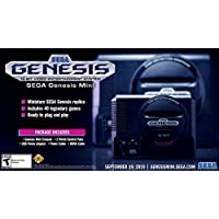 Sega Genesis Mini 次世代创世纪主机预装游戏