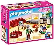 Playmobil 摩比世界 舒适客厅家具套装