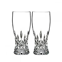 Waterford Crystal Lismore Pint Glass, Pair