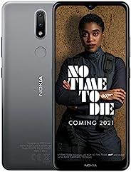 Nokia 諾基亞 2.4 6.5 英寸 Android UK SIM-Free 智能手機,帶 2GB RAM 和 32GB 存儲(雙 SIM) - 炭黑色