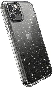 Speck Products 兼容手机壳适用于 Apple iPhone 11 Pro, Presidio Clear + Glitter Case129893-5636 Clear with Gold Glitter/