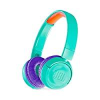 JBL JR 300BT 儿童头戴式无线耳机,采用*声音技术(蓝*)