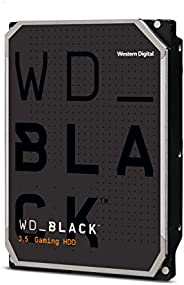 Western Digital 西部数据 2TB WD Black Performance 内置硬盘-7200 RPM级,SATA 6 Gb / s,64 MB高速缓存,3.5英寸(约8.89厘米)-WD2003FZEX