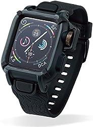 Elecom宜丽客 Apple Watch 皮套 40mm NESTOUT 黑色 AW-40BCNESTBK