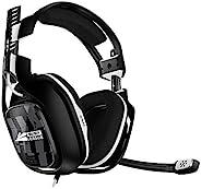 ASTRO Gaming A40 TR 使命召唤联盟版,4 代有线游戏耳机,Astro Audio V2,杜比音频,可交换麦克风,游戏/语音平衡控制,适用于 Xbox X|S|Onee,PS5,PS4,PC - 黑色/白