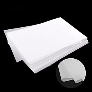 PSLER 240 张白色转印纸,带 5 个压花手写笔,适用于 DIY 木工、纸、帆布和其他艺术工艺表面(A4 尺寸)