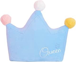 Ailansnug 可爱毛绒彩虹皇冠/云/月亮/太阳枕家居装饰创意靠垫枕头适用于沙发/汽车/卧室摄影道具送给孩子女孩的礼物