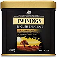 Twinings English Breakfast 100 g (Pack of 6)