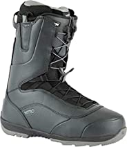 Nitro Snowboards 男士 Venture TLS '21 All Mountian Freestyle 快速系带靴,