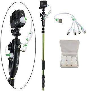 YOLOtek PowerStick-53 GoPro 船架 - 导航灯支架兼容 GoPro & 运动相机。捆绑套件 YOLOtek