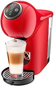 Krups KP3405 NESCAFé Dolce Gusto Genio S Plus 膠囊咖啡機(濃縮咖啡,溫度選擇,熱飲和冷飲,15巴泵壓,0.8升水箱)紅色