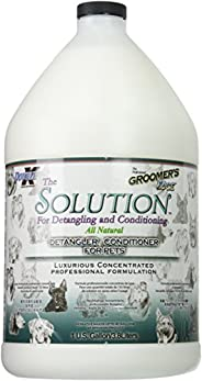 Groomers Edge The Solution Conditioner 洗发水,1加仑,3.8升