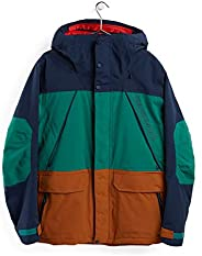 Burton) 滑雪服男士夹克 Breach Jacket XS ~ XL 码101801 ミッドフィット Living liningtm