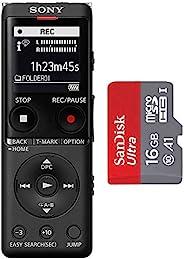 Sony 索尼 ICD-UX570 数码录音机 SanDisk 闪迪 16GB Ultra microSDHC UHS-I 存储卡