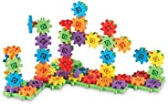 Learning Resources 齒輪 100件豪華組建套裝,組建玩具,3歲以上兒童