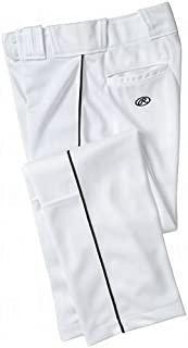 Rawlings 青年高级棒球/垒球半宽松型滚边裤