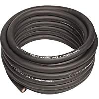 4 号黑色 7.62 米电源/接地线 True 4 AWG 电源线 - 真正规格和软触电缆(黑色)