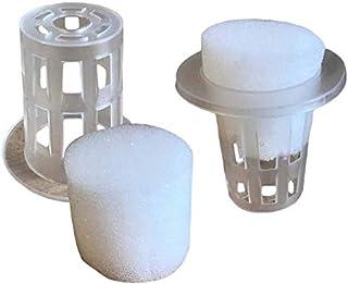 Think Crucial 替换克隆您自己的植物切割套件 – 替代 AeroGarden – 7 个克隆篮和 21 个克隆海绵 – 适合所有带气泡曝气的航空花园 – 散装(28 件装)
