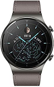 HUAWEI 华为 WATCH GT 2 Pro 智能手表,AMOLED 高清触摸屏 2 周电池寿命 带GPS 和 GLONASS SpO2 100 多种锻炼模式 蓝牙通话 心脏监测,星云灰,1.39 英寸