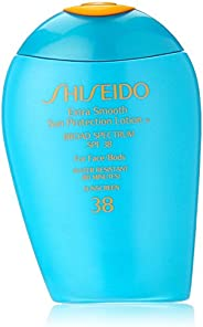Shiseido Extra smooth sun protection 乳液 n' broad spectrum spf 38 for face/body für unisex, 3.3 ounce by sh