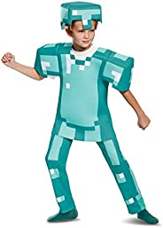 Disguise Armor Deluxe Minecraft 服装 48 months to 72 months 小号( 4-6) 蓝色
