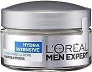 L'Oréal Paris 巴黎欧莱雅 男士专家多效功能保湿面霜,适用于男性敏感肤质,快速吸收/无残留/不油腻,