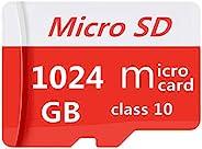Micro SDXC 卡 1TB 高速 Class 10 TF 存儲卡 Micro SD 卡帶適配器 (1TB)